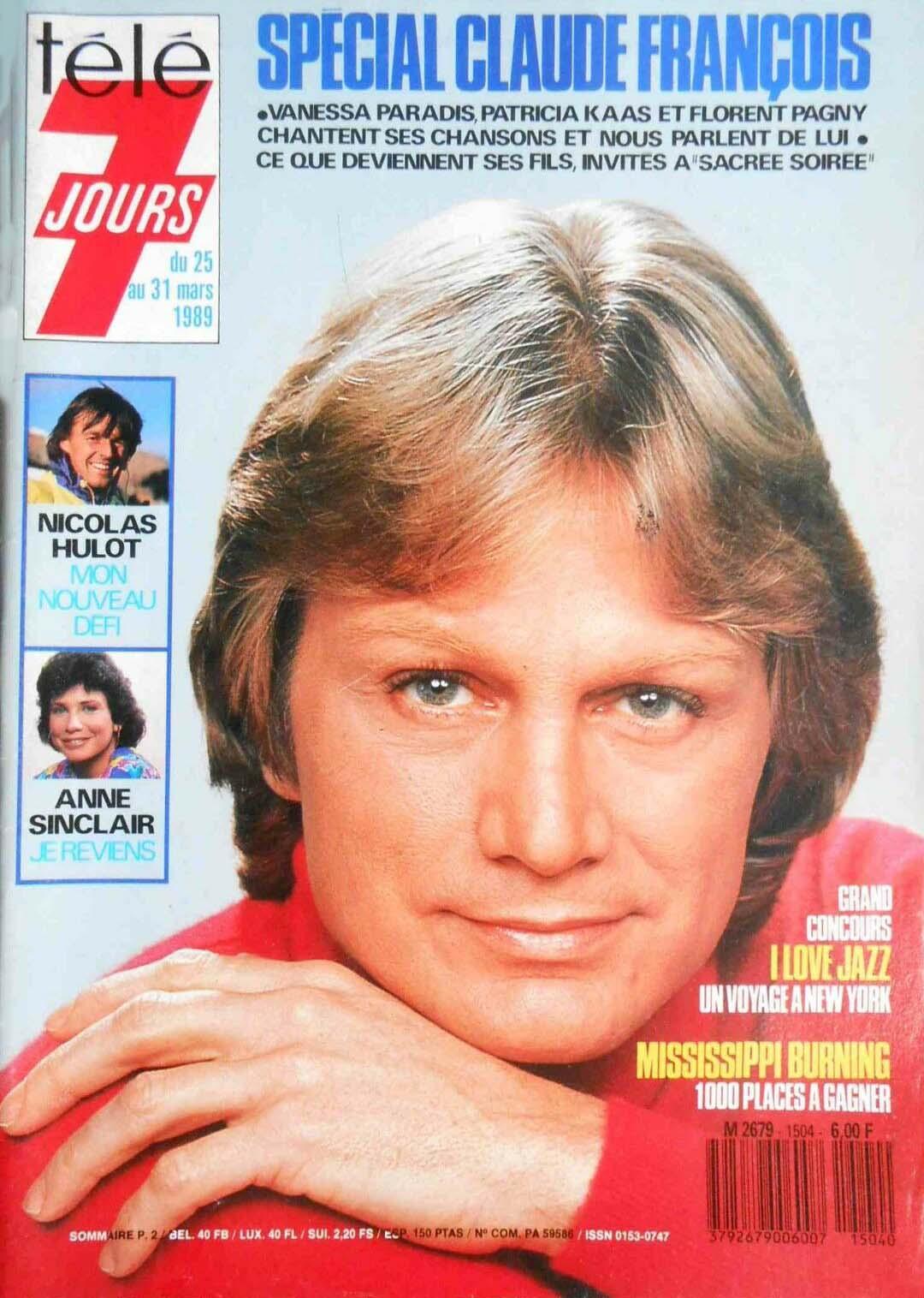 Programme TV du 25 au 31 mars 1989